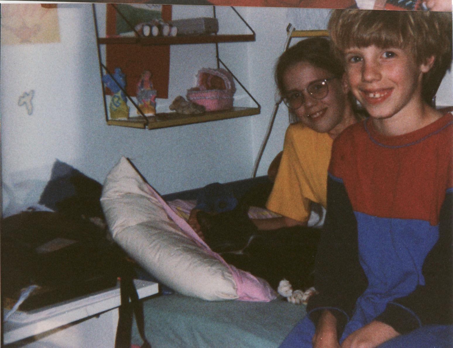Ik met zusje