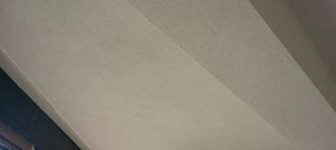 Project lounge: plafond en muren