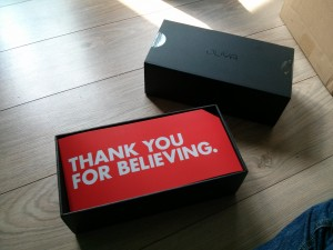OUYA THANK YOU FOR BELIEVING