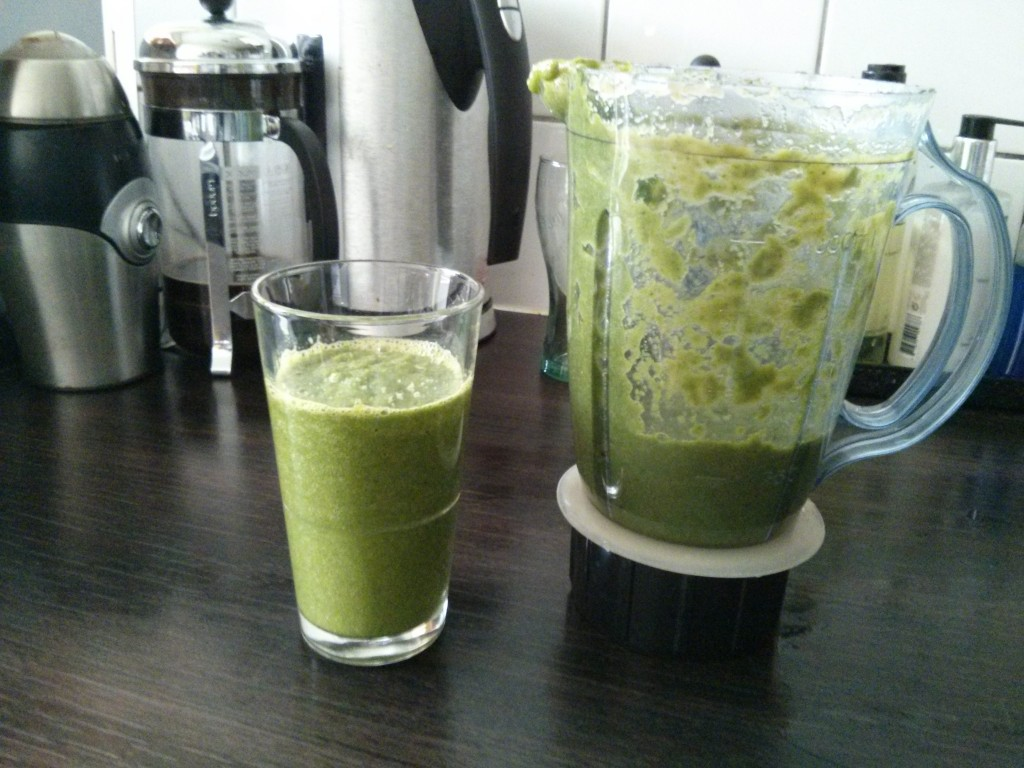 Groene Smoothie it's done